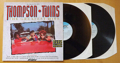 Thompson Twins - The Greatest Hits double LP (1990) Stylus SMR 092