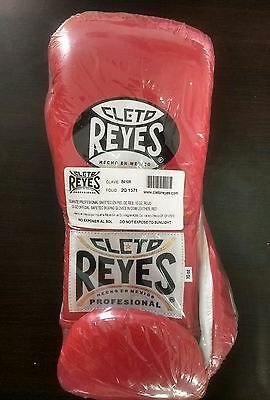 Cleto Reyes 10oz Red Safetec Laceup Boxing Gloves not Grant or Winning