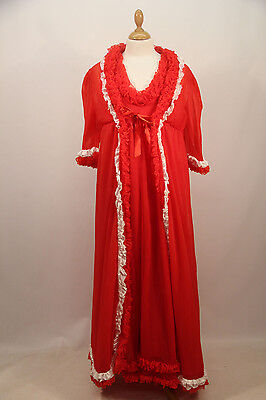 Red Nylon Night Dress & Gown