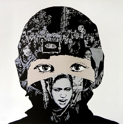 ICY AND SOT - Rebellion - Print signed & numbered | Urban, street art, graffiti