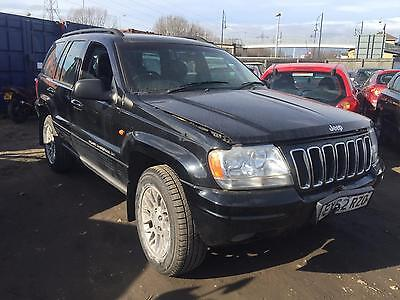 2002 Jeep Grand Cherokee 2.7 CRD auto Limited MOT SPARES OR REPAIRS