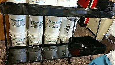 carpet cleaning truckmount shelving shelf for chemicals air movers