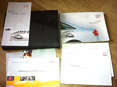 AUDI A6 (Typ 4B; 1997 - 2004) OWNERS MANUAL / HANDBOOK / WALLET saloon and Avant