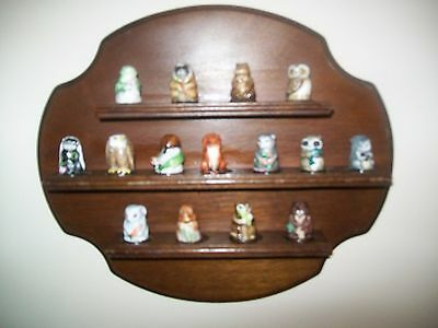 Friends of the Forest Thimble Collection