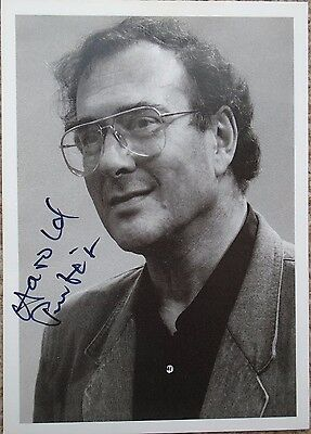 Harold Pinter - Playwright/author - Signed