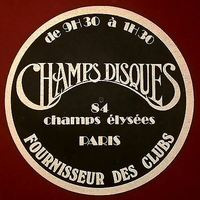 Feutrine Champs Disques 80's collector