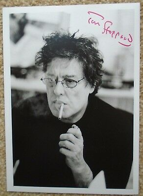 Sir Tom Stoppard - Playwright/author - Signed