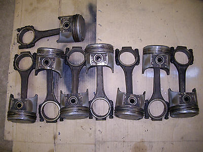 Set 392 Hemi Pistons, Connecting Rods