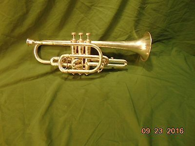 Vintage American Standard (H.N. White Co.) Silver Cornet  (Cleveland Ohio)