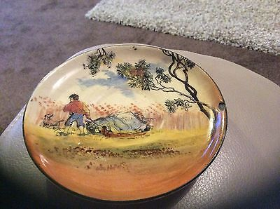 Royal Doulton plate English old scenes The Gleaners