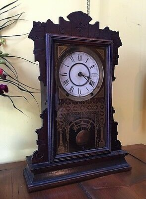 Seth Thomas City Series Derby Parlor Gingerbread Kitchen Mantle Clock