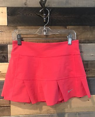 Nike Dri Fit Girls Pink Skort Tennis Skirt Size Small