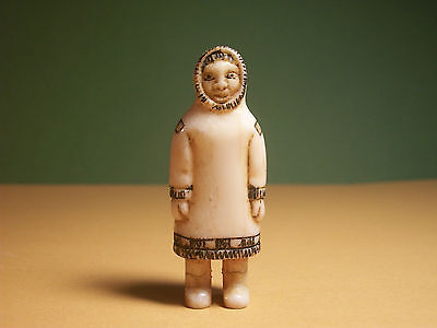 Figurine of a Man No. 2. Old Eskimo Yupik Inuit Carving