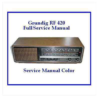 Grundig Rf 420 Service Manual Full Color