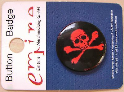 Totenkopf / skull and bones / Button / Badge neu!!!