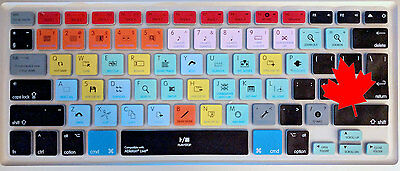 Ableton Live Hotkey Shortcuts Keyboard Cover Skin Macbook Pro Air -Fast Shipping