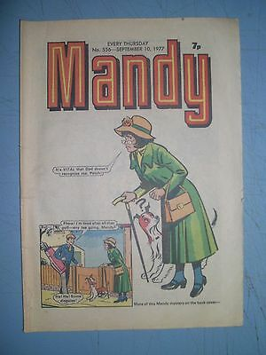 Mandy issue 556 dated September 10 1977