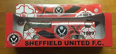 Sheffield United FC Die Cast Collectible Team Bus
