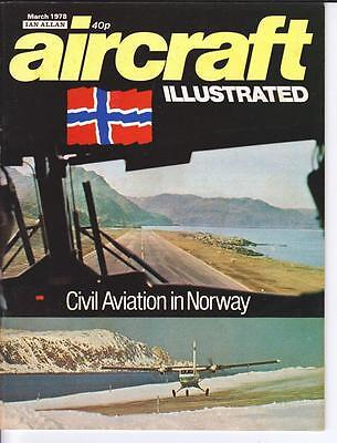 Aircraft illustrated March 1978 Ian Allan