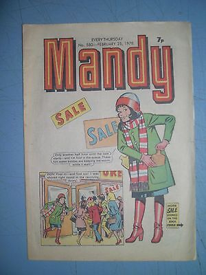 Mandy issue 580 dated February 25 1978