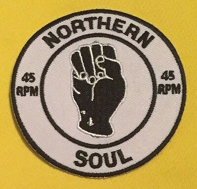 Northern Soul Iron On Patch