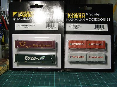 Graham Farish N gauge Containers
