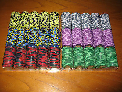 Sunfly SPAYDZ - 600 Poker Ceramic Chips Fiches + OMAGGIO