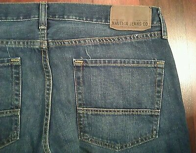 Mens Jeans size 36x32 Nautica Loose Fit