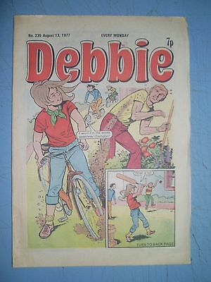 Debbie issue 235 dated August 13 1977