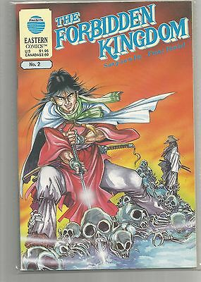 THE FORBIDDEN KINGDOM # 2  By Eastern Comics