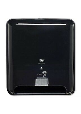 Tork 5511281 Elevation Intuition Battery-Operated Roll Towel Dispenser, Black