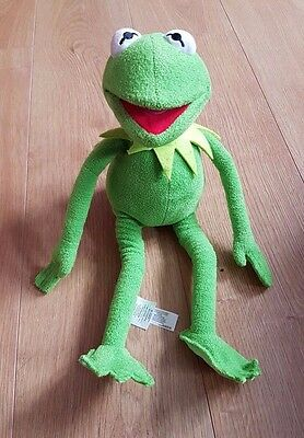 Disney Store Kermit Muppets Medium Plush Soft Toy Rrp £22.00 Great Condition