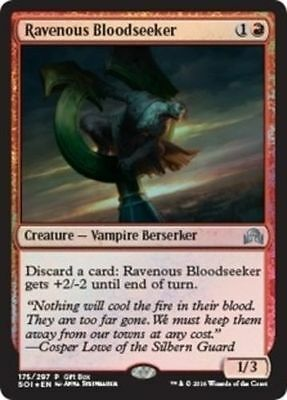 Magic the Gathering - Ravenous Bloodseeker FOIL Promo - Shadows over Innistrad