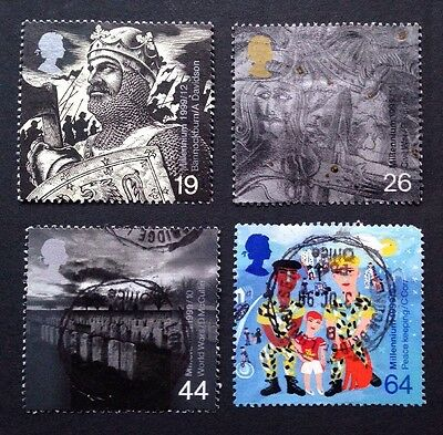 GB-1999 Millennium The SOLDIERS TALE Set (4) Used Stamps