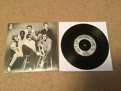 """The Specials """" Do Nothing """" 1980 Two - Tone 7"""" Picture Sleeve Issue The Specials"""