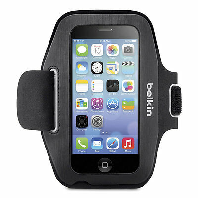 Belkin Ease-Fit Armband for iPhone 5/5S/5C/SE iPod touch 5th gen - Black