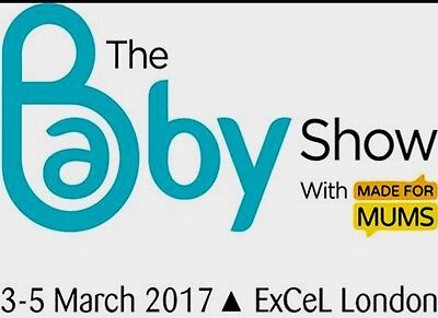 One ticket For BABY SHOW ExCel, London - 3-5 March - valid any one day! RRP £20