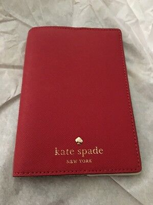 kate spade Mikas Pond Passport Holder Pillbox Red T42013