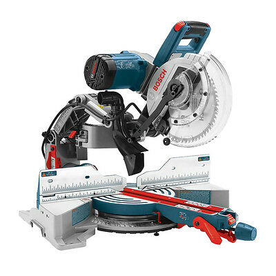 """10"""" Dual-Bevel Glide Miter Saw Open Box Bosch Tools CM10GD"""
