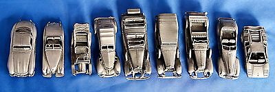 Franklin Mint Mini Pewter Car Collection