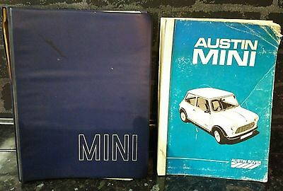 rare mini workshop manuals