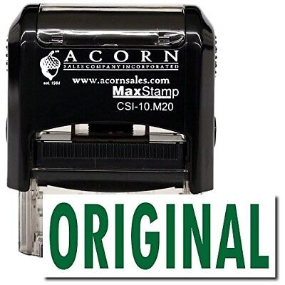 MaxStamp - Self-Inking Original Stamp (Black Ink)