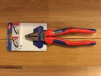 Knipex Combination Pliers Multi Component Grip 200mm