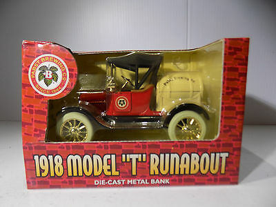 Ertl Collectibles 1918 Model T Barrel Truck Pabst Brewing Co  Coin Bank  Mib