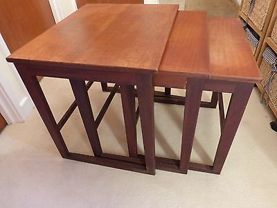 1950s or 60s nest of tables (3)