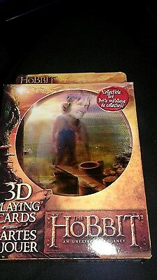The Hobbit 3D Playing Cards in a Collectible Tin-New and Sealed