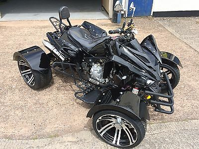 Brand New 2017 300Cc Automatic Road Legal Quad Bike Nationwide Delivery 17 Plate