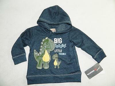 Kids Headquarters Baby Boys Blue Hoodie Sweater Cotton NWT Size 6/9M