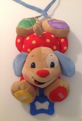 Baby Toy Fisher Price Laugh And Learn Puppy Grasp  Toy, Stroller, Crib