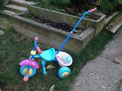 Pepper Pig Child/Toddler Bike/Tricycle With Handle